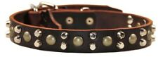 Bumps & Bits Leather Dog Collar Top Quality by D&T