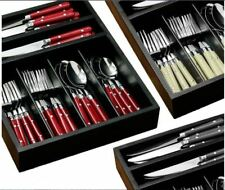 36 Piece Cafe Stainless Steel Cutlery Sets In 3 Colours