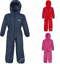 TRESPASS PUDDLE  SUIT WATERPROOF ALL IN ONE RAINSUIT
