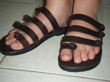 Leather Sandals Womens 5,6,7,8,9,10,11,12 NEW Original