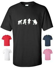 EVOLUTION OF A SOLDIER ARMY FUNNY T-SHIRT MENS WOMENS