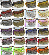 Top Quality Belly Dancing Hip Scarf Skirt Wrap Costumes 211 Pcs Copper Coins