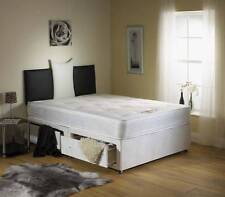 "6FT SUPER KING SIZE 10"" MATTRESS DIVAN BED + HEADBORAD"