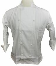 NWT Dickies Chef 70102 Egyptian Cotton Grand Master Chef Coat Knot Button 34-56
