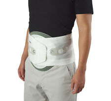 Aspen Medical Quikdraw Lumbar Brace Support & Anterior Panel White or Black New