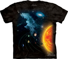 Solar System The Mountain Adult T-Shirt Collection