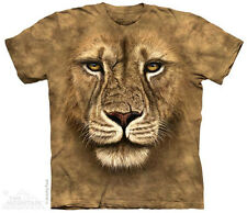 Lion Warrior The Mountain Adult T-Shirt Collection