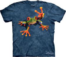 Victory Peace Frog The Mountain Adult & Child T-Shirt