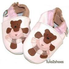 BEAUTIFUL SOFT LEATHER BABY GIRLS SHOES  0-6 6-12 12-18 18-24 M AN IDEAL GIFT