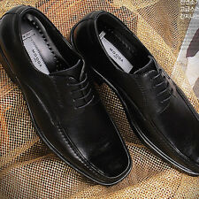 New Handmade Mens Dress Formal Casual Shoes Lace up Oxfords Leather Black