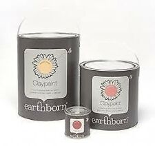 EARTHBORN CLAYPAINT ECO PAINT REDUCES DUST AND ALLERGENS *30 COLOURS* VOC FREE