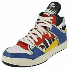 MENS ELLESSE TRAINERS STYLE NAME ASSIST 1 COLOUR WHITE/BLUE/RED NAVY LACE UP