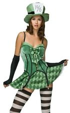 Sexy Mad Hatter Adult Storybook Halloween Costume + Hat
