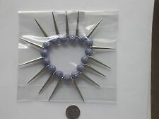 Chunky Sexy Stretch Bracelet Spike Arcrylic Beads In 7 Colors