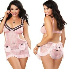 New 6pc Adult Women Costume Football Touch Down 1X/2X  3X/4X Lingerie Halloween