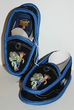 Disney Toy Story Woody Buzz Lightyear Toddler Slippers S 5-6 M 7-8 L 9-10 11-12