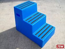 JSW 3-STEP MOUNTING BLOCK- PREMIUM mount aid 4 to horse CL334 Classic ShowJumps