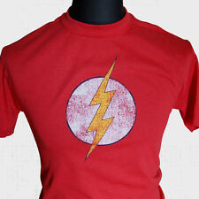 The Flash Sheldon Cooper T shirt Big Bang Theory dvd Marvel comic super hero tv