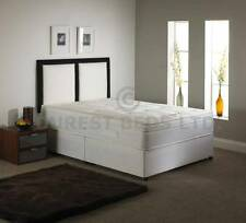 TOPPER MEMORY FOAM BED DIVAN + MATTRESS + HEADBOARD 6FT 5FT KING 4FT6 DOUBLE 3FT