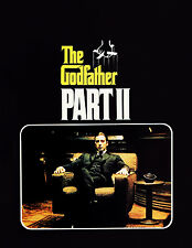 THE GODFATHER PART II Movie Poster Al Pacino