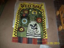 "Jeremiah Junction Large High Count 24x36"" Yard Home Garden Simplify Flag~NEW~"