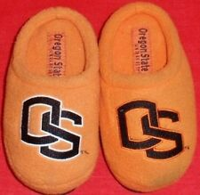 NEW Boy's Toddler's OREGON BEAVERS Black/Orange Slippers House Shoe M Medium