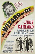 THE WIZARD OF OZ Movie Poster MGM Hollywood Classic