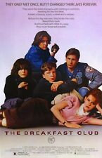 The Breakfast Club 8x10 11x17 16x20 24x36 27x40 Movie Poster Vintage Hughes A