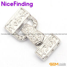 3 Strands Silver Clasps Gold Plated Magnet Jewelry Making Design 29x14mm DIY