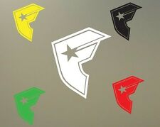 """18"""" h famous F decal sticker reproduction stars and straps car JDM S206"""