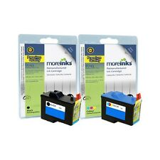 2 Remanufactured 7Y743 / 7Y745 Ink Cartridges for Dell Printers
