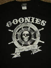 The Goonies Movie Captains Wheel Never Say Die Skull T-Shirt