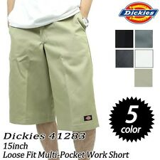 "Dickies 41283 Mens 15"" Multi-Use Pocket Work Shorts Various Colors & Sizes"