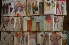 MISSES PANTS SHORTS & BLOUSE OR TOP PATTERN VARIETY STYLE SIZE 6 - 22