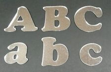 ACRYLIC MIRROR LETTERS 20cm SHATTERPROOF UPPER AND LOWER CASE CHOOSE ANY LETTERS