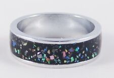 One Beautiful New Genuine Abalone Paua Shell Ring  Sizes 5 - 9 Available #R1200