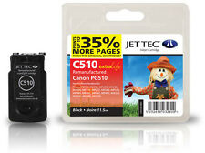 Remanufactured Jettec PG-510 Black Ink Cartridge for Canon Pixma Printers