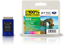 Remanufactured Jettec HP22 Tri-Colour Ink Cartridge for Officejet 4314 & more