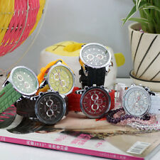 2012 New Mens Sport Casual Silicone Unique Quartz Movement  Wrist Watch Watches