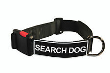 Dog Collar With Velcro Patches by Dean Tyler: Search Dog