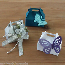 5 - Favour Boxes - small - Die Cuts - Party - Wedding - Gifts - Christmas