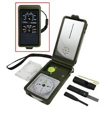 Rothco 4749 Multi-function Compass Kit - Olive Drab W Emergency Accessories