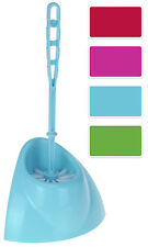 Toilet Bush and Holder Set - 4 Funky Colours To Choose From