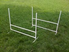 2 Dog Training Jumps Agility Obedience Flyball FUN!!
