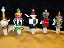 Decorative Wine Stoppers/Bottle Corks-Assorted Styles Cute/Whimsical New