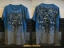 "Affliction Mens BLUE ""Live Fast"" T-Shirt TEE NWT Size M L XL Free Shipping"