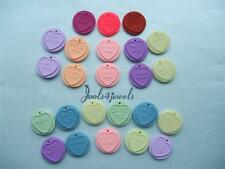 Kitsch Fimo Love Heart Sweet Clip-on Charms for Bracelets-24  to choose from