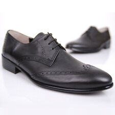 BELIVUS First step buffalo leather handmade Men's shoes loafer/blacks/BS008