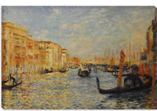 Grand Canal Venice by Auguste RenoirCanvas Print Picture Wall Art - 10 SIZES!