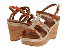 LUCKY BRAND KEENA WOMENS WEDGE SANDAL CORK HEEL STRAPPY SHOES MULTI SIZES